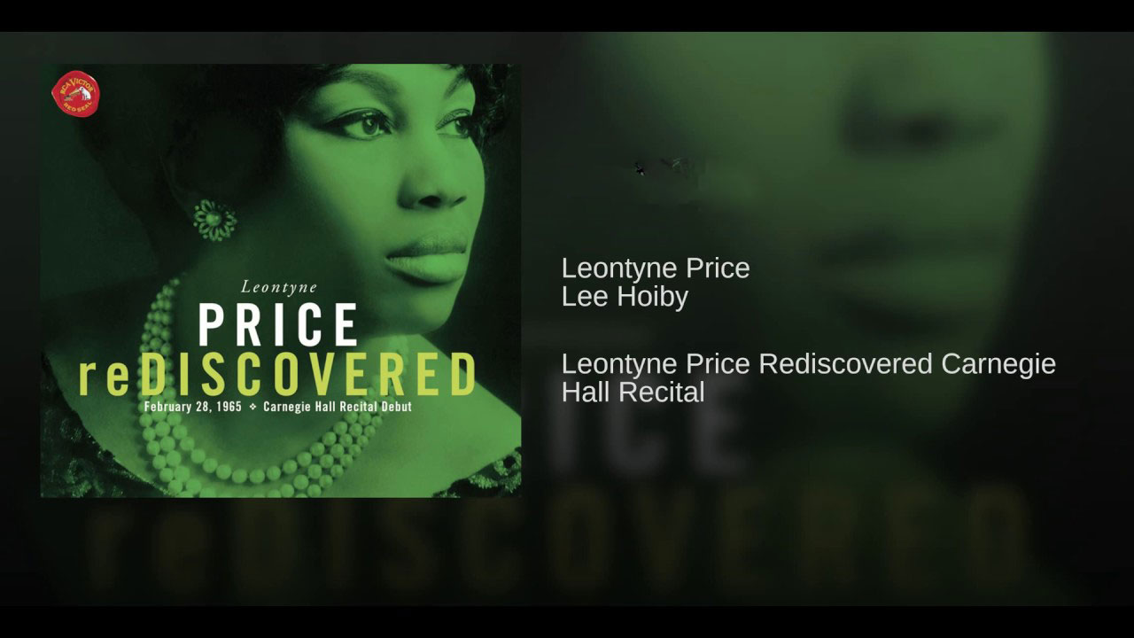 Leontyne Price Re-Discovered - Carnegie 1965